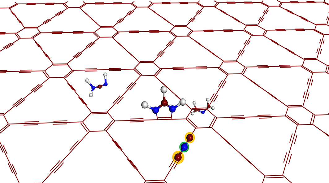 Few-layer graphdiyne doped with sp-hybridized nitrogen atoms at acetylenic sites for oxygen reduction electrocatalysis