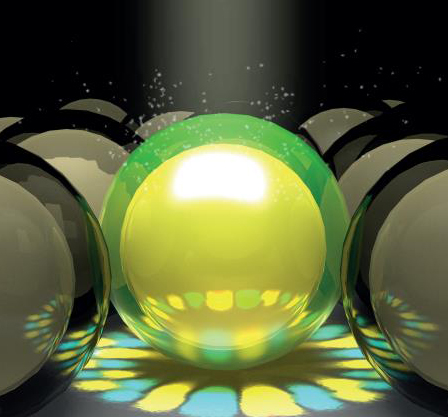 Resonance-Enhanced Absorption in Hollow Nanoshell Spheres with Omnidirectional Detection and High Responsivity and Speed